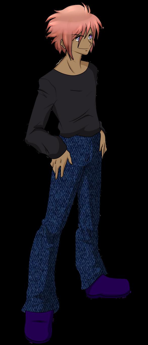 Nuriko Human Form (Full Body) by Luckyshortyboo