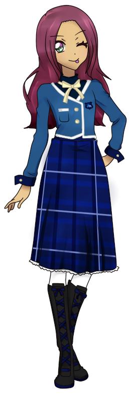 Ellie SSA Winter Uniform by Luckyshortyboo