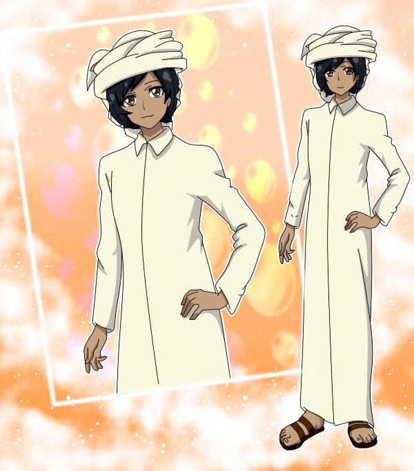 ~SAA~ Abdul Ali by Luckyshortyboo