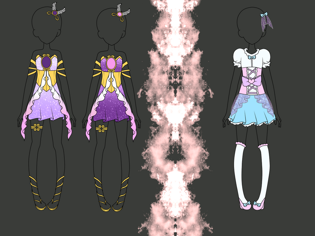 Mocha's coord design contest by Luckyshortyboo