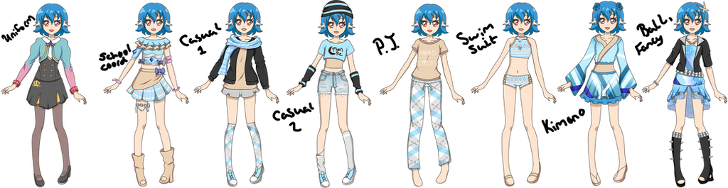 ~Com~ Custom Character PT 5 by Luckyshortyboo