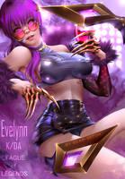 EvelynnKDA by bear-witch