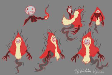 Flame Spirit Concept Art