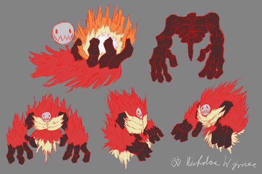 Flame Emperor Concept Art