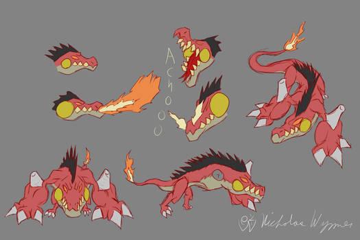 Salamander Concept Art