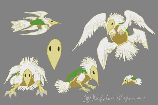 Turtle Dove Concept Art