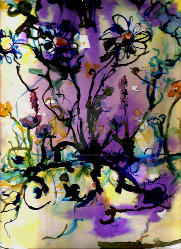 Wild Flowers by LaurieLefebvre