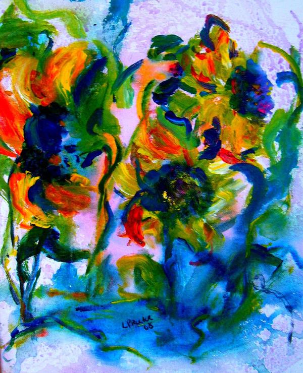 Sunflower dance by LaurieLefebvre
