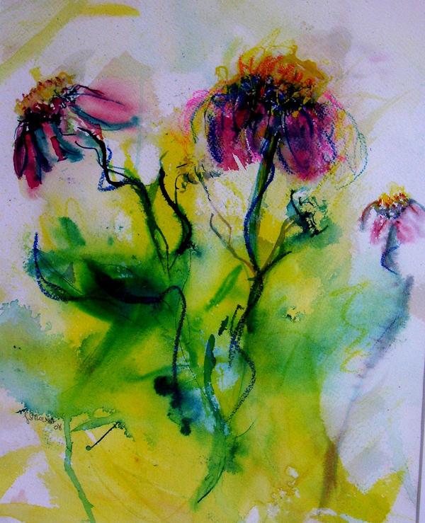 Flower Dance by LaurieLefebvre
