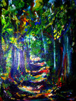 A Walk in the Woods by LaurieLefebvre