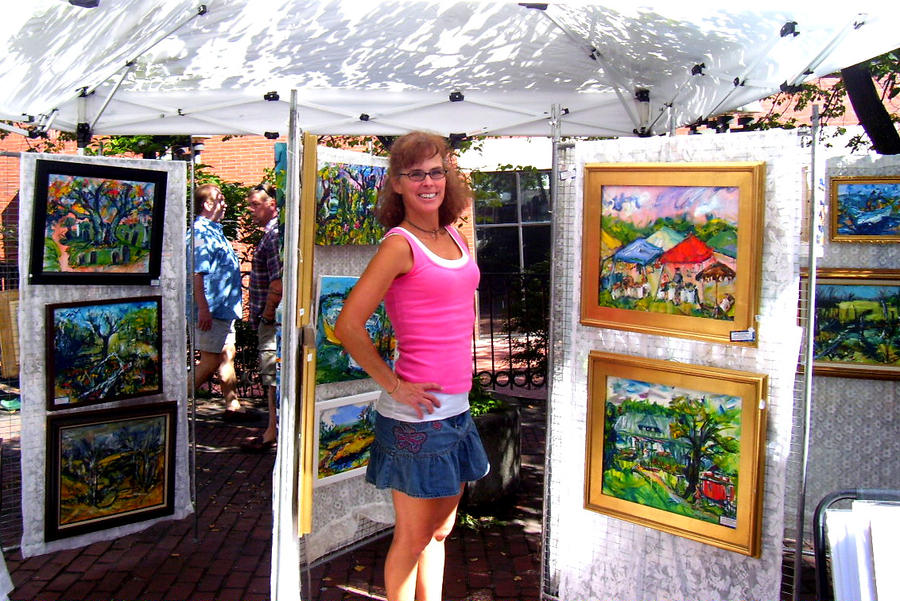 Laurie Proctor selling art by LaurieLefebvre