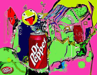 Dr Pepper by LaurieLefebvre