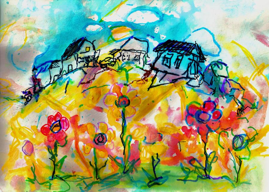 Hillside  LProctor by LaurieLefebvre