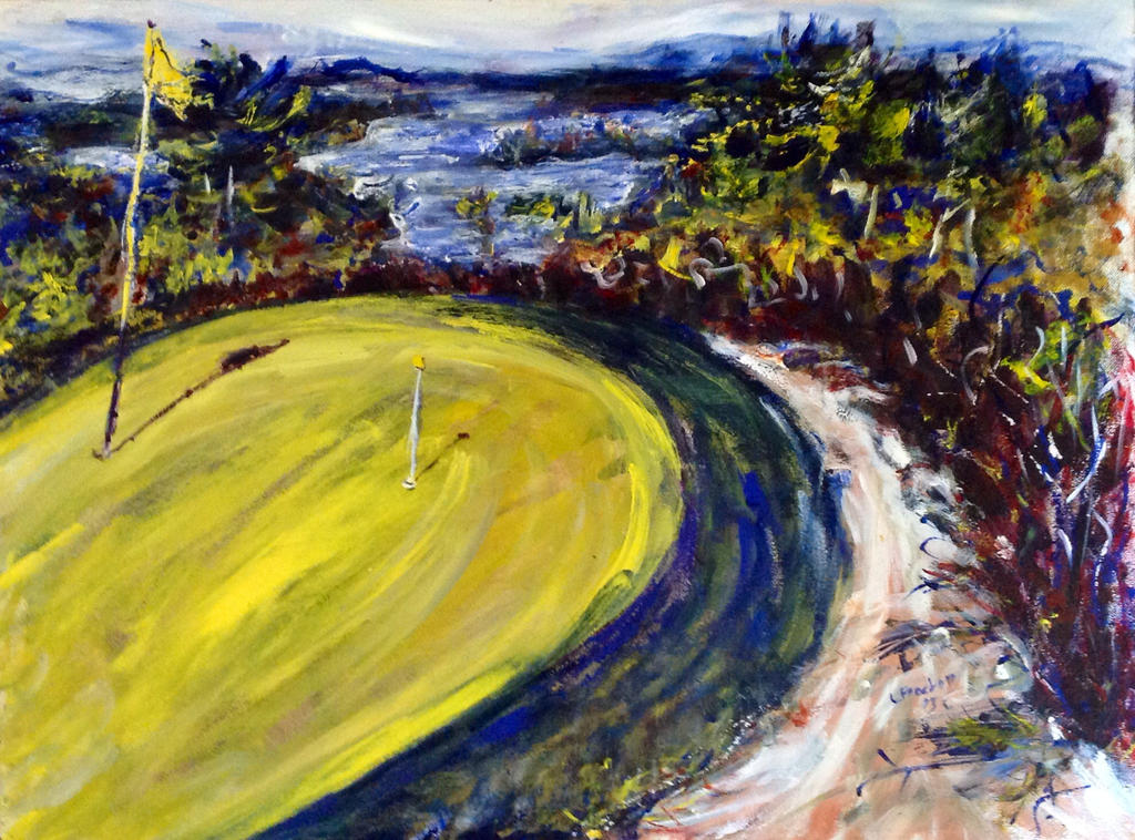 Golf by LaurieLefebvre