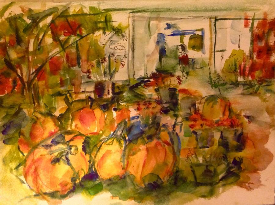 Pumpkin time by LaurieLefebvre