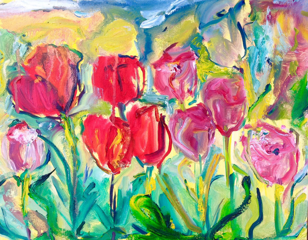 Tulips Lefebvre by LaurieLefebvre