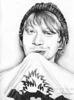 Rupert Grint by jucyjesy82
