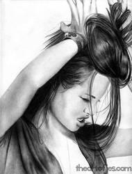 Angelina Jolie by jucyjesy82