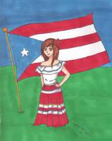 Puerto Rico by StrawberrieMew
