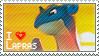 Lapras Stamp by StrawberrieMew