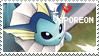Vaporeon Stamp by StrawberrieMew
