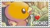 Torchic Stamp by StrawberrieMew