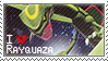 Rayquaza Stamp by StrawberrieMew