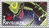 Rayquaza Stamp by StrawberrieMew