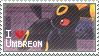 Umbreon Stamp by StrawberrieMew