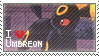 Umbreon Stamp by StrawberrieMew