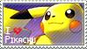 Pikachu Stamp
