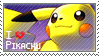 Pikachu Stamp by StrawberrieMew