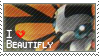 Beautifly Stamp by StrawberrieMew