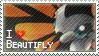 Beautifly Stamp by StrawberrieMew