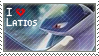 Latios Stamp by StrawberrieMew