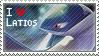 Latios Stamp by StrawberrieMew