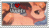 Vulpix Stamp by StrawberrieMew