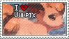 Vulpix Stamp by StrawberrieMew