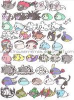 Mameshiba Pokemon Project 15 by StrawberrieMew