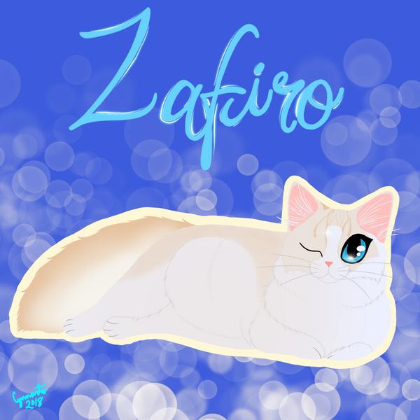 Zafiro by StrawberrieMew