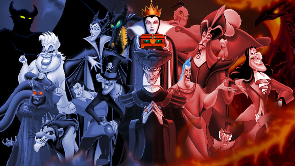 King Nothing: A Tribute to Disney Villains by Electricboa