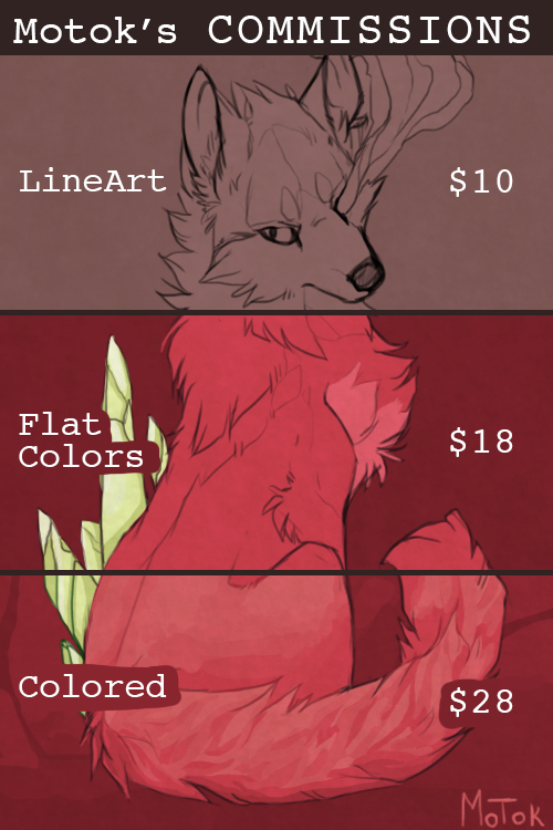 Commissions Info by Motok