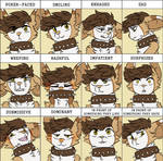 the many expressions of my tfm mouse