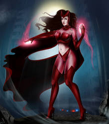 Scarlet Witch by WhitneyCook