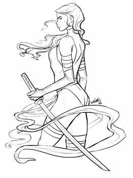 Psylocke Redraw