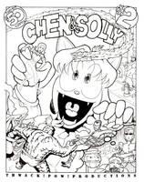 Chen -n- Solly Cover 2 by GarthHaslam
