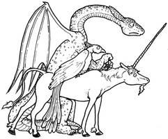 Nervous Monsters by GarthHaslam