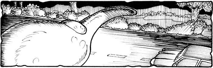 Loch Ness Monster - The Spicer Sighting by GarthHaslam