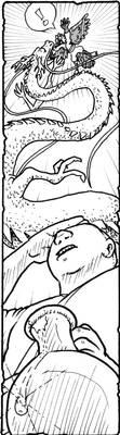 Ryuu vs Tengu by GarthHaslam