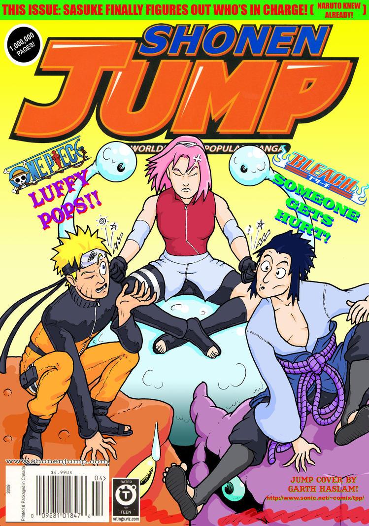 Shonen Jump Cover: 2010 by GarthHaslam